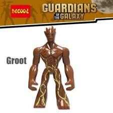 Hot Guardianes de la galaxia el gran árbol Groot Mini Figuras Juguetes de construcción