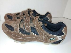 Body Geometry 6119-4439  Mountain Cycling Sneakers Womens US 8.5 Brown/Blk_A7