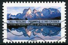 TIMBRE FRANCE  AUTOADHESIF OBLITERE N° 1371 / ANNEE DU TOURISME / PATAGONIE