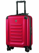 New VICTORINOX Spectra™ 2.0 - 55cm Hardsided Global Carry-On Red Suitcase Swiss