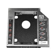 """Caddy contenitore pr secondo hard disk 2,5"""" HDD SSD SATA 12.7mm laptop portatile"""
