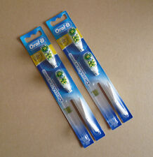 4 refills of Oral-B Cross Action Power Replacement Brush Heads Anti-Bacterial