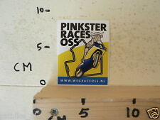 STICKER,DECAL OSS  PINKSTERRACES WWW.WEGRACEOSS.NL