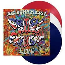 Joe Bonamass - British  Blues Explosion(180g LTD. Red, White, Blue Vinyl 3LP),