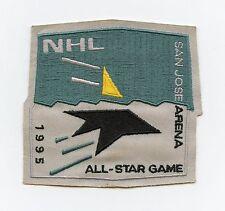1995 NHL All-Star Game San Jose Arena Vintage Jersey Patch Sharks