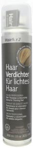 Hairfor2 Haarverdichtungsspray 300ml dunkelblond