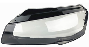 AUDI A8 D4 Headlight Headlamp Lens Cover Fits For 2013-2017 Left Side