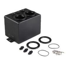 3L Aluminum High Flow Swirl Fuel Surge Pot Tank For Dual 044 External Fuel Pump