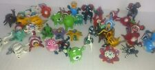 12 Piece Set of Mexican Folk Art Bobble Head Disney Animals Hand Crafted