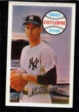 1970 KELLOGG'S BASEBALL NEW YORK YANKEES MEL STOTTLEMYRE CARD #5 NM-MT ODD-BALL