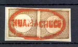 PERU 1862 - MI#11 (2 x ) PM = HUAMACHUCO= VF