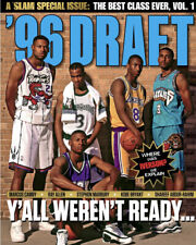 Kobe Slam Magazine 1996 Draft Class Los Angeles Lakers NBA Finals MVP and Jordan