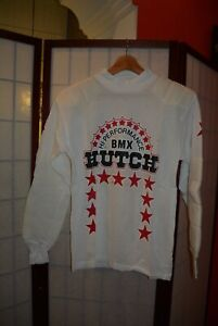 Vintage 80's Motocross jersey BMX Hi Perfomance Hutch Win made in France . ALY