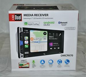 """Dual DMCPA70 7"""" Multimedia Receiver with Apple CarPlay and Android Auto New"""