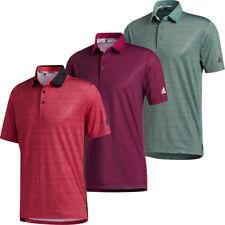 adidas Golf Mens Ultimate365 UV 50+ Short Sleeve Polo Shirt