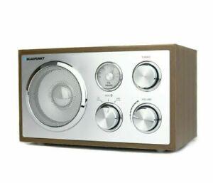 Blaupunkt UKW Küchenradio Nostalgie Retro Radio Holz Gehäuse Bluetooth AUX IN