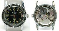 Orologio Duxot caliber as 1746/47 mechanic diver watch vintage clock freccione