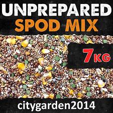 7kg Unprepared Spod / Particle Mix Containing Hemp, Maize & Mixed Seeds