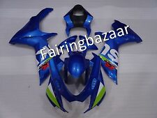 Blue ABS Injection Molded Bodywork Fairing Kit for SUZUKI GSXR600/750 2011-2017