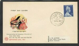 1961 5d DAME NELLIE MELBA, First Day Cover
