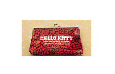 NEW Eikoh Hello Kitty Red Bows Purse Makeup Pouch 22cm x 15cm E68373 US Seller