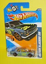 2012 HOT WHEELS FASTER THAN EVER '12 #092- Datsun Bluebird 510 - Gray Variant