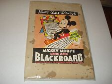 """1940's/1950's Mickey Mouse Magic Slate Black Board """"Box Only"""" 12"""" X19"""""""