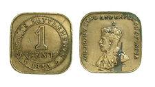 pcc1442_15) British Commonwealth - Straits Settlements 1 Cent 1920