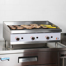 """36"""" Natural Gas Radiant Commercial Restaurant Kitchen Countertop Charbroiler"""