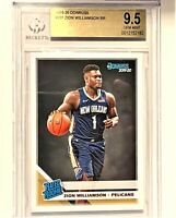 2019-20 DONRUSS ZION WILLIAMSON RC BGS 9.5  #201 RR PELICANS PSA 10? GEM MINT