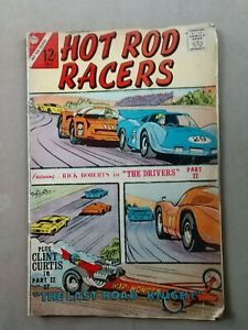 "HOT ROD RACERS #15 1967 ""The Last Road Knight"" CHARLTON COMICS"