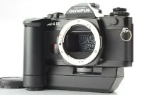 [Excellent+5 + Winder2 ] Olympus OM-4 Ti BLACK 35mm SLR Film Camera From JAPAN