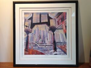 "Charles Billich Limited Edition Print "" SOUTHGATE "" Melbourne Signed # 10-500"