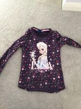 Frozen Elsa Disney Long Sleeved 100% Cotton Top, Size 8a