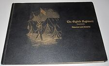 1898 BOOK - THE EIGHTH REGIMENT OF MASSACHUSETTS AT CHICKAMAUGA PARK