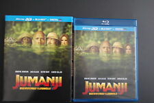 Jumanji bienvenue dans la jungle 3D + Blu-Ray