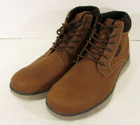 $60 Memphis One Mens Fleece Lined Lace Up Ankle Boots, Brown, US 13