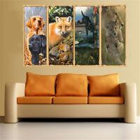 GI- HD_ DV_ AU_ Animal Dog Fox Leopard Diamond Painting Decor Living Room Wall C