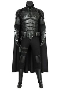 The Batman 2021 Bruce Wayne Robert Pattinson Uniform Cosplay Costume Halloween