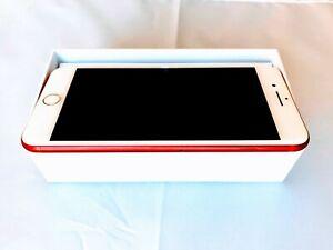 Apple iPhone 7 Plus 256GB RED Factory Unlocked CDMA/GSM/LTE Warranty, Global, SR