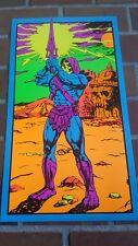 Skeletor Rules! Marvel Third Eye tribute poster MOTU blacklight He Man day glow!