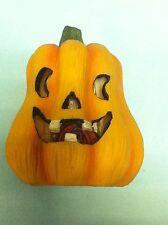 +  zucca  Halloween horror carnevale ceramica con luce interna