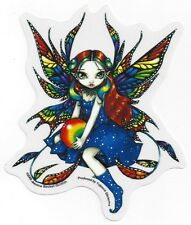 Midnight Rainbow Fairy Sticker Car Decal Jasmine Becket-Griffith Strangeling