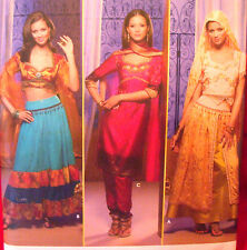 Simplicity 4249 BELLY DANCE BOLLYWOOD INDIA sz 14-20  Bust 36-42 Sewing Pattern