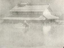 """Héliogravure - 1926 - """" Une rizière """"  par Toyo Okamoto"""