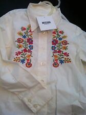 Authentic Moschino Girls New With Tags Shirt