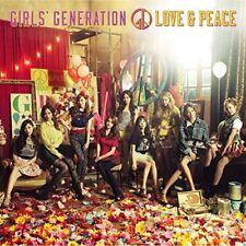 SNSD Girls' Generation LOVE&PEACE Japan Fan club limited special CD
