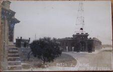 Cienfuegos, Cuba 1930s Realphoto Postcard: Patio E. Naval