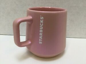 Starbucks 2020 Holiday Series 12oz Coffee Mug Cup Pink Pearlescent, NWT