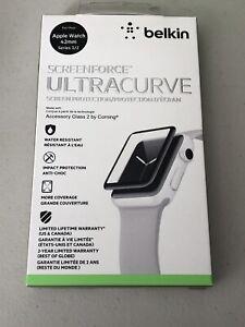 Apple Watch 42mm Series 3/2 Belkin Screen Force Ultracurve Screen Protection A21